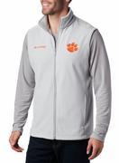 Clemson Columbia Men's Flanker Fleece Vest