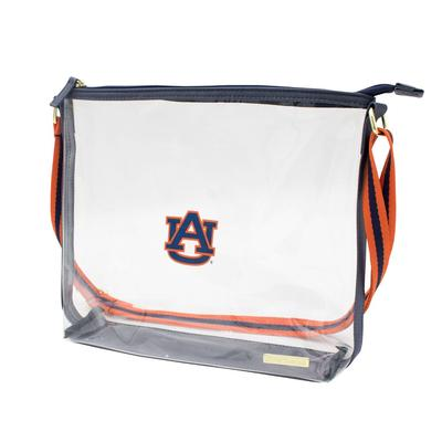 Auburn Capri Designs AUB Clear Simple Tote