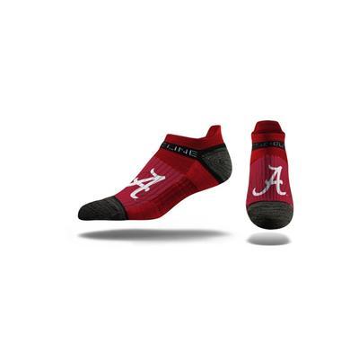 Alabama Strideline Low Cut Socks