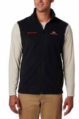 Georgia Columbia Men's Flanker Fleece Vest
