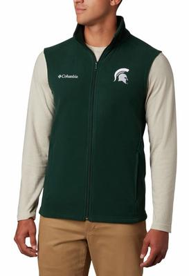 Michigan State Columbia Men's Flanker Fleece Vest