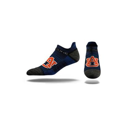 Auburn Strideline Low Cut Socks
