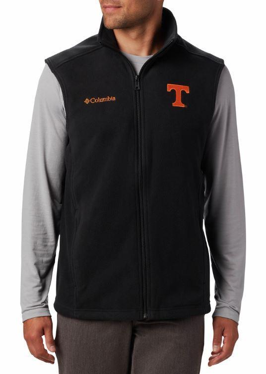Tennessee Columbia Men's Flanker Fleece Vest