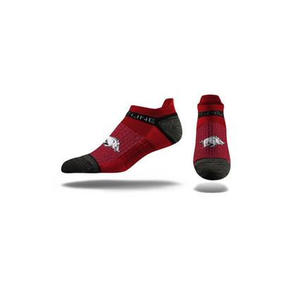 Arkansas Strideline Low Cut Socks
