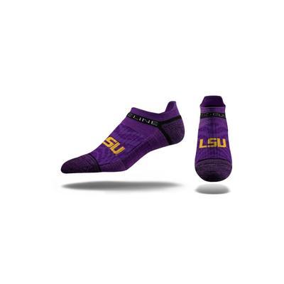LSU Strideline Low Cut Socks