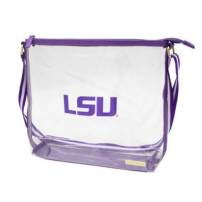 LSU Capri Designs LSU Clear Simple Tote