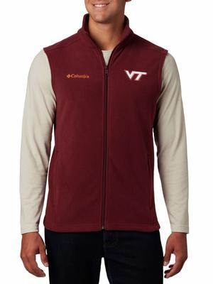 Virginia Tech Columbia Men's Flanker Fleece Vest