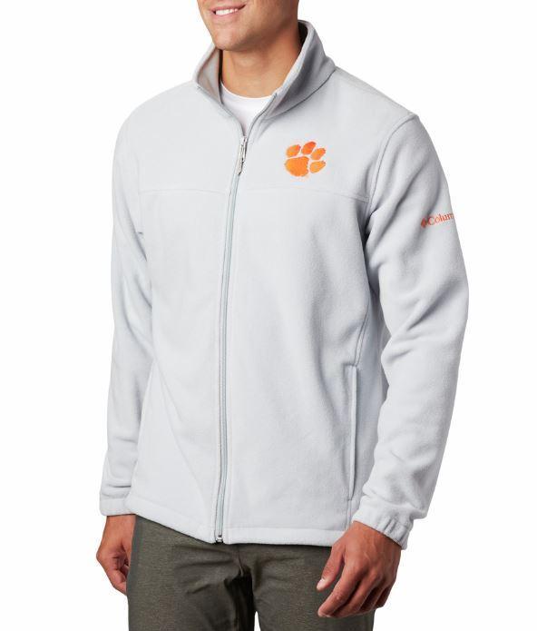 Clemson Columbia Men's Flanker Iii Fleece Jacket
