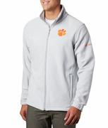 Clemson Columbia Men's Flanker Iii Fleece Jacket - Big Sizing