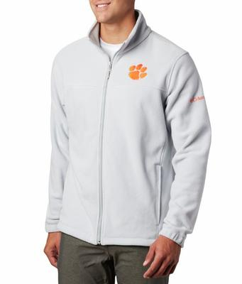 Clemson Columbia Men's Flanker III Fleece Jacket - Tall Sizing