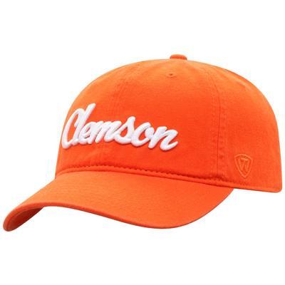 Clemson Top of the World Zoey Script Hat