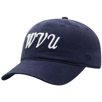 West Virginia Top of the World Zoey Script Hat