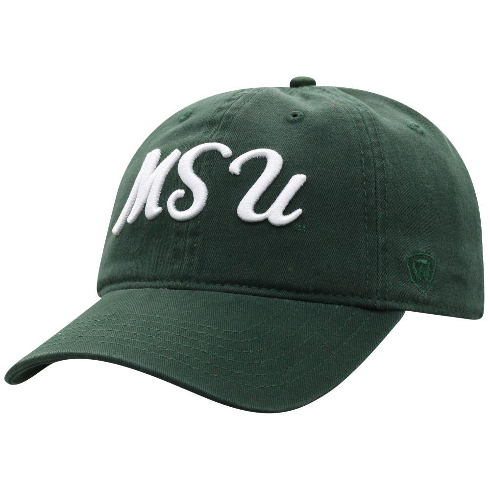 Michigan State Top Of The World Zoey Script Hat