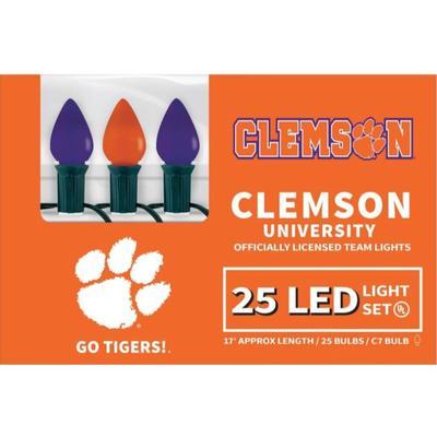 Clemson Led Light Strand