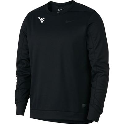 West Virginia Nike Golf Therma Crew Sweater