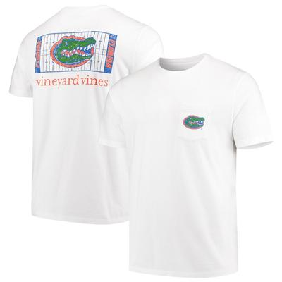 Florida Vineyard Vines Short Sleeve Football Field Tee