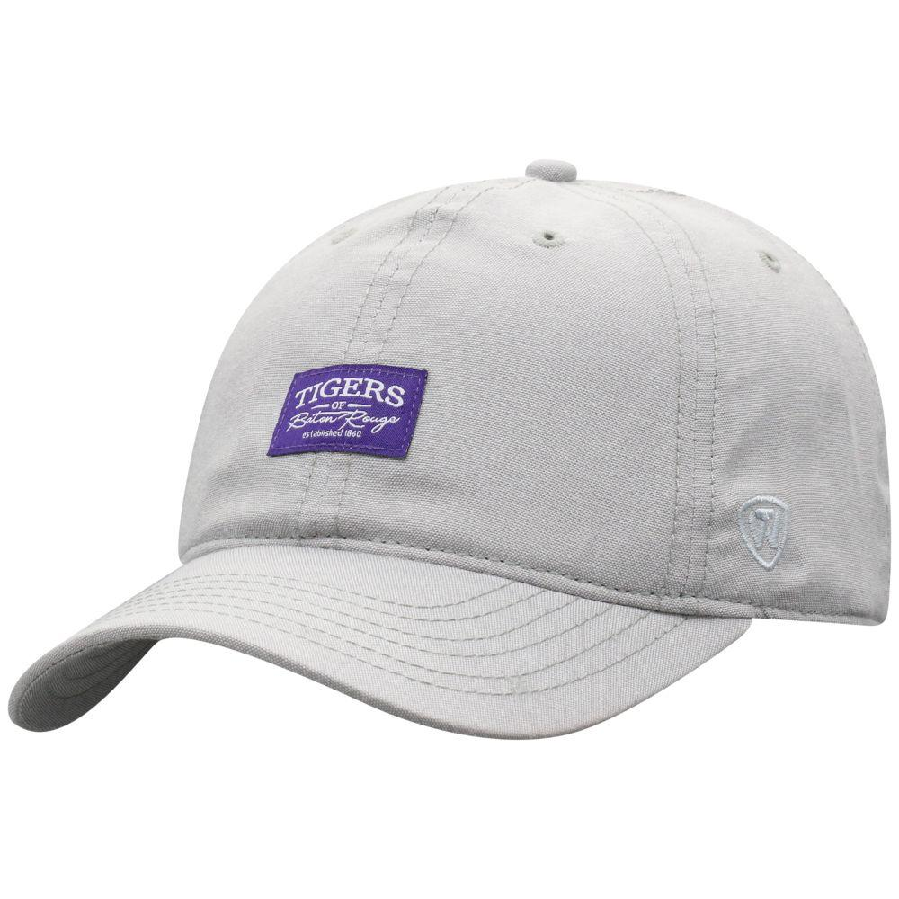 Lsu Top Of The World Ante Chambray Hat