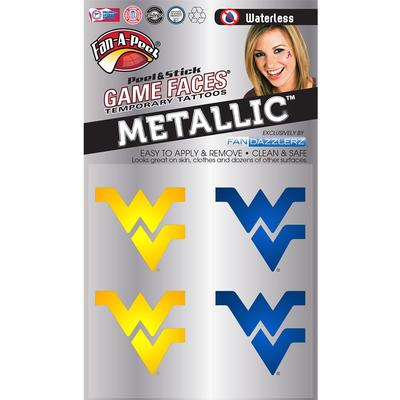 WV Metallic Face Decal 4-Pack