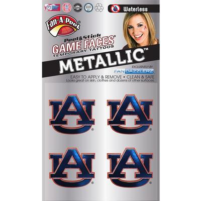 AU Metallic Face Decal 4-Pack