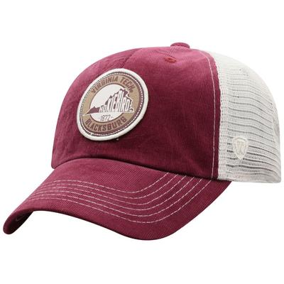 Virginia Tech Top of the World Control Hat