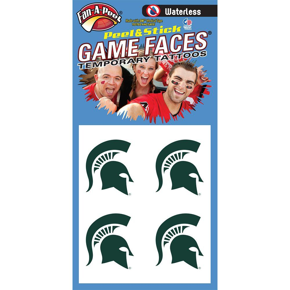 Spartan Head Waterless Face Tat 4- Pack