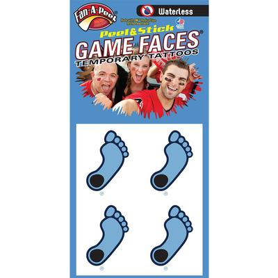Tar Heel Waterless Face Tat 4-Pack