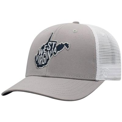 West Virginia Top of the World Hirise Hat