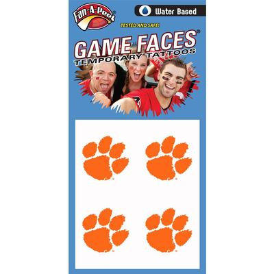 Paw Face Decal 4-Pack