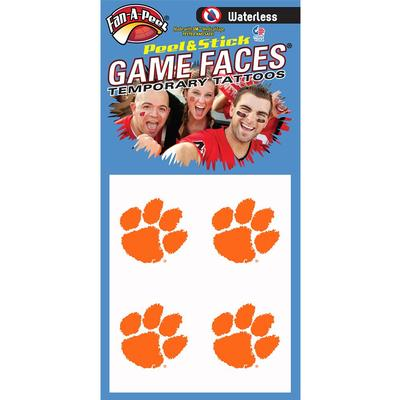 Paw Waterless Face Decal 4-Pack