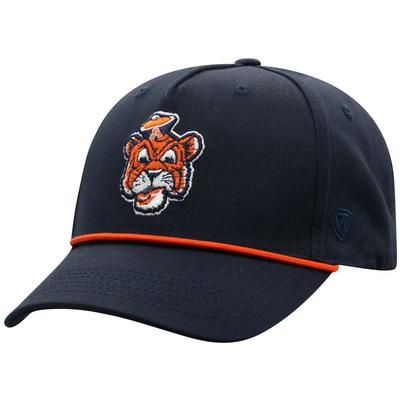 Auburn Top of the World Rope Hat