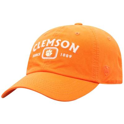 Clemson Top of the World Intellect Canvas Cap