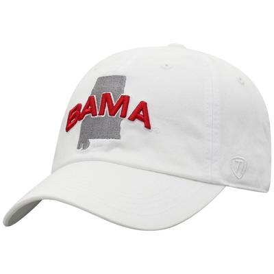 Alabama Washed Cotton State Cap