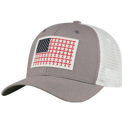 Tennessee Flag Canvas Trucker Hat