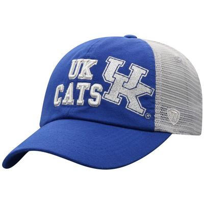 Kentucky Women's Glitter Logo Trucker Hat