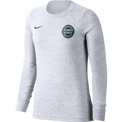 Michigan State Nike Women's Rivalry Long Sleeve Statement Tee