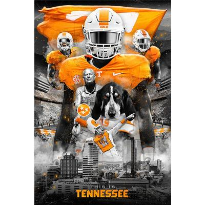 Tennessee 16x24 This Is Tennessee Canvas