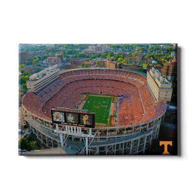Tennessee 24x16 Aerial Neyland Stadium Canvas