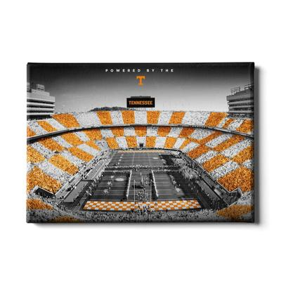 Tennessee 24x16 Powered By the T Canvas