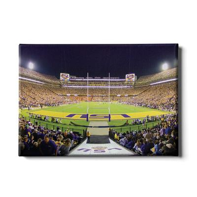 LSU 24x16 LSU End Zone Canvas