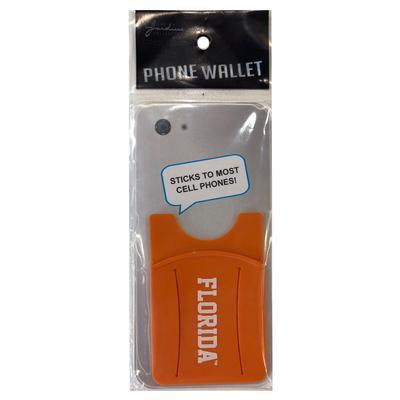 Florida Silicone Phone Wallet With Finger Slot