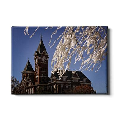 Auburn 24x16 Samford Tower Canvas