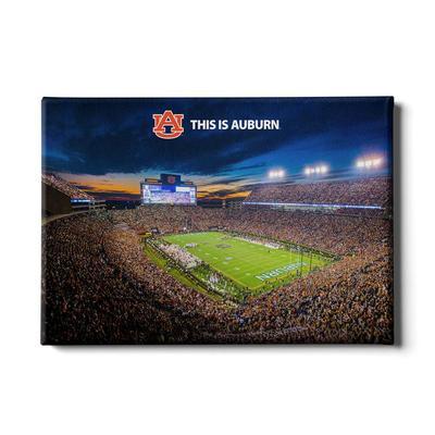 Auburn 24x16 This is Auburn Canvas