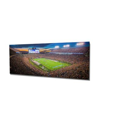 Auburn 16x36 Auburn Lights Pano Canvas