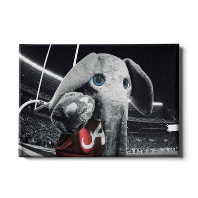 Alabama 24x16 Big Al End Zone Canvas
