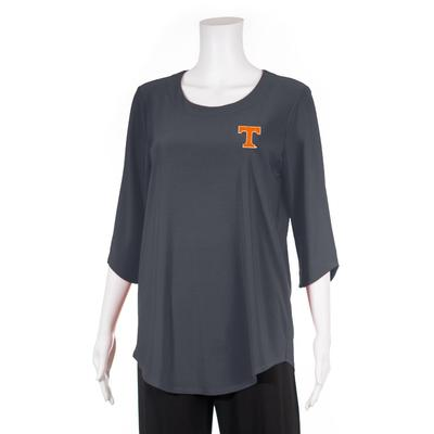 Tennessee P. Michael Scoop Neck Top