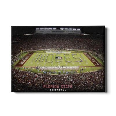 FSU 24x16 Florida State Football Canvas