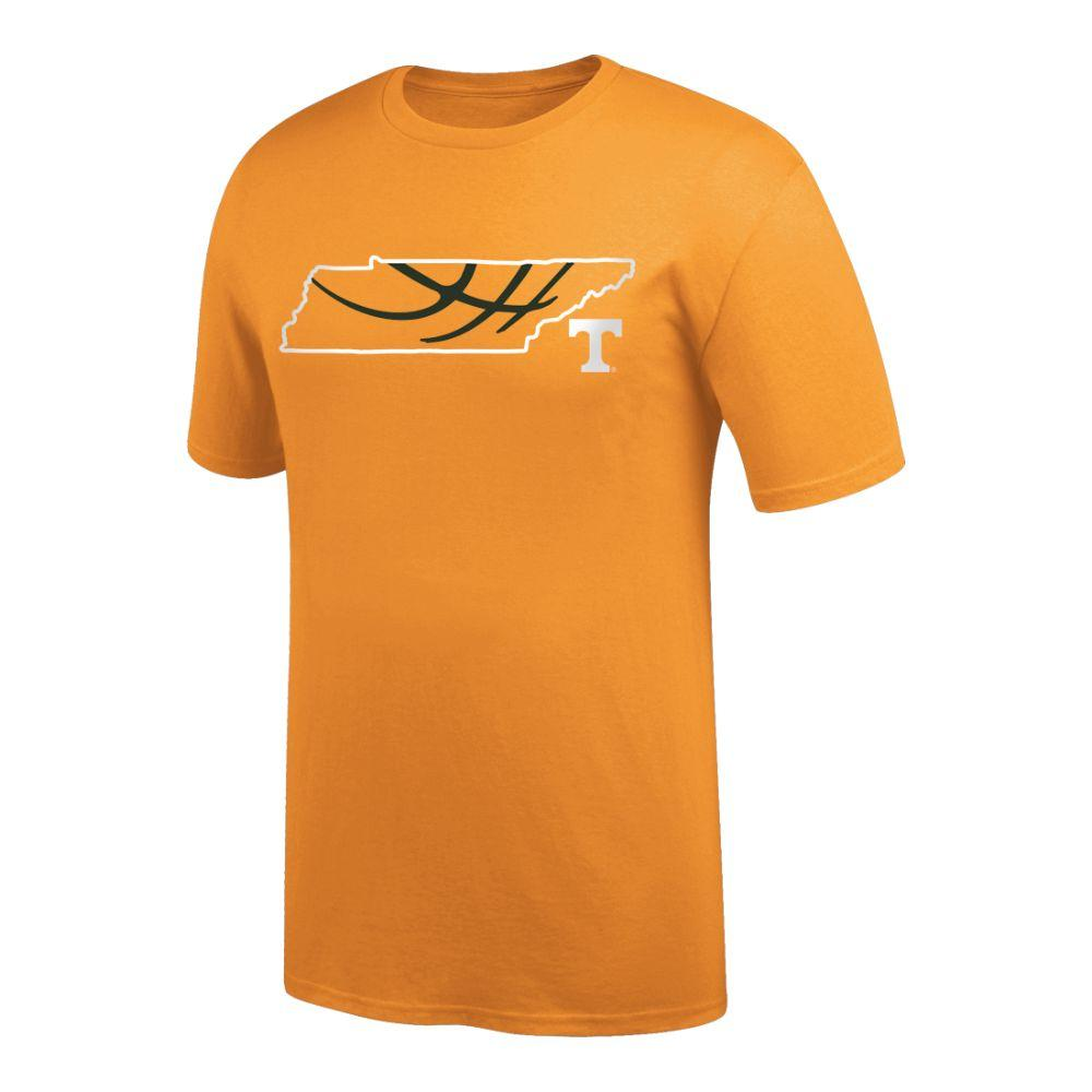 Tennessee Basketball In State Tee Shirt