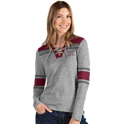Virginia Tech Antigua Women's Lace Front Hood