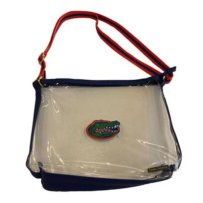 Florida Capri Designs UF Clear Simple Tote