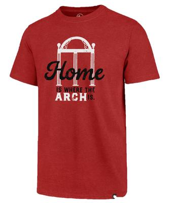 Georgia Home Is Where The Arch Is '47 Brand Club Tee